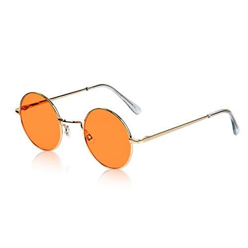 Hippie Glasses Hippy Fashion Sunglasses 70's 60's Cool Funky Shades quavo Orange