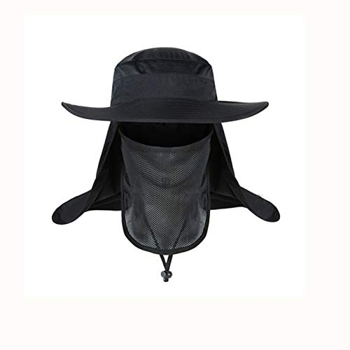 byou Sombrero de Sol,Gorra de Pesca al Aire Libre Nylon 360...
