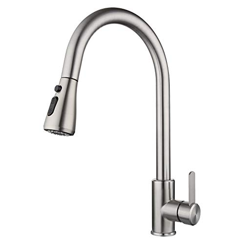 Top 10 Pull Down Kitchen Faucets Of 2021 Best Reviews Guide
