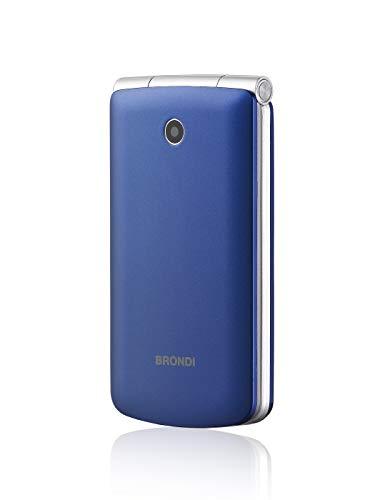 Brondi Magnum 3 3' 105g Azul, Violeta - Teléfono móvil (Concha, SIM doble, 7,62 cm (3'), 1,3 MP, 800 mAh, Azul, Violeta)
