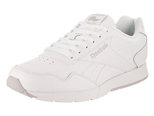 Reebok Mens Reebok Royal Glide White/Steel/Reebok Royal Sneaker 10 D (M)