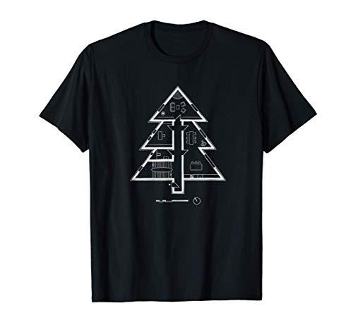 El proyecto de regalo de Navidad del ingeniero arquitecto Camiseta
