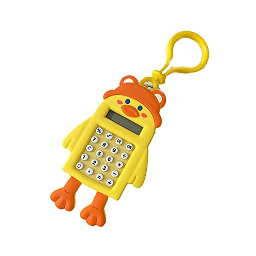 Llavero De La Calculadora Colgando Mini Calculadora Laberinto Juguete Colgante Mochila Bolsa Colgante Regalo De Llavero para Estudiantes calculadora portatil (Color : H)