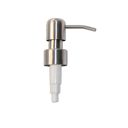 Meet's shop Dispensador de loción y jabón, 1 pieza 304 de acero inoxidable, dispensador de loción líquida, repuesto para frasco, accesorios de baño (color: E)