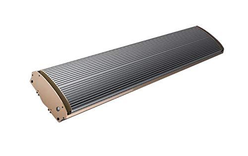 Jhheater Infrarrojo 1800 Panel de calefacción infrarrojo de onda larga de 1800W de potencia Montaje separado o en el techo Suministrado con cable