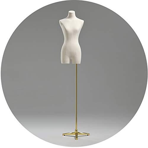 ZHANWEI Maniquí De Costura, Abbigliamento Donna Puntelli Fittizi Regolazione Altezza, Clavicola Sexy...