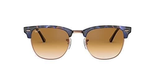 Ray-Ban 0RB3016 Gafas de sol, Spotted Brown/Blue, 49 para Hombre