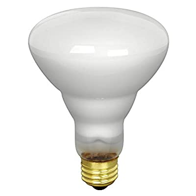 Feit Electric 65BR30/FL/MP-130 65-Watt BR30 Indoor Reflector Flood Light, White