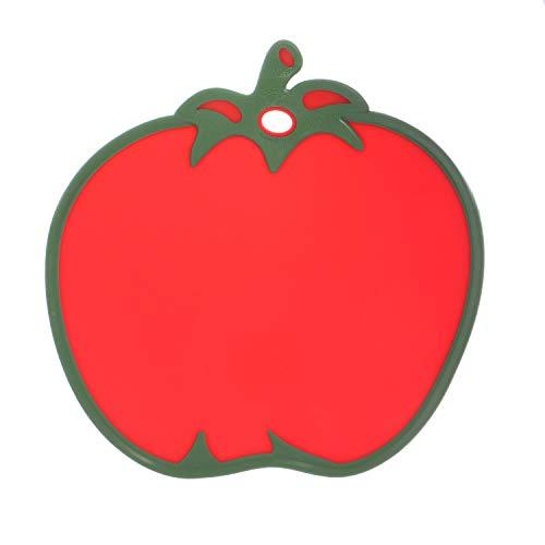 Tagliere a forma di pomodoro, in plastica, da 29,5X30 cm
