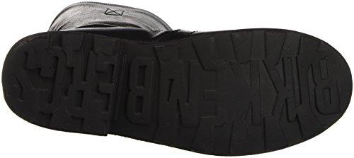 Bikkembergs Vintage 736 Boot W S.Leather/Leather, Scarpe a Collo Alto Donna, Nero, 37