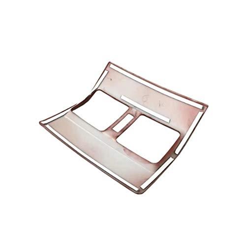 YXNVK Pegatina de Ajuste de Salida de ventilación de Aire Acondicionado Trasero Cromado ABS para Coche, para Toyota Land Cruiser Prado FJ150 150 2010-2017
