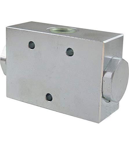 Hydraulikventil, Mengenteiler 50:50, Stromteiler, Blockbauweise, 25-40 l/min