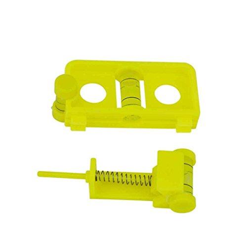Hotaluyt Bow String Livello di plastica stabilita sintonia di Montaggio Attrezzature Arco Compound Regolabile Arco Tiro con L'Arco Accessori Strumenti