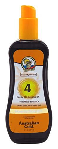 Australian Gold Spf#04 Spray Oil 8 Ounce (Carrot Oil Formula) (235ml) (2 Pack)