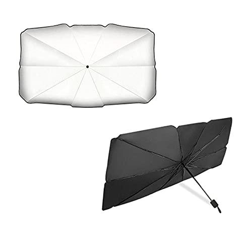 HYCy Parasol para Parabrisas Delantero de Coche, Parasol Delantero, Protector UV, para Coche, Parasol Plegable para Coche, Parabrisas Delantero, Protector Solar, Parasol, Protector, blo