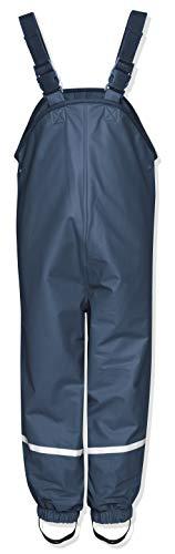 Playshoes Kinder Regenlatzhose, Blau, 98