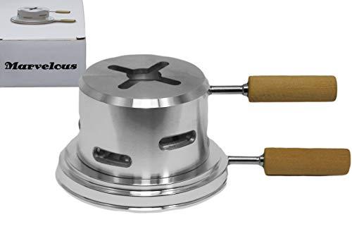 Marvelous Smokebox Shishaofen Shisha Aufsatz benötigt nur eine Kohle