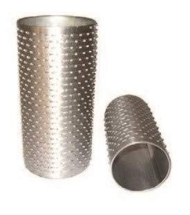 Rodillo sin brida brida de hierro para rallador diámetro 78 x 142 mm Chiskoit IFO6NZE9958