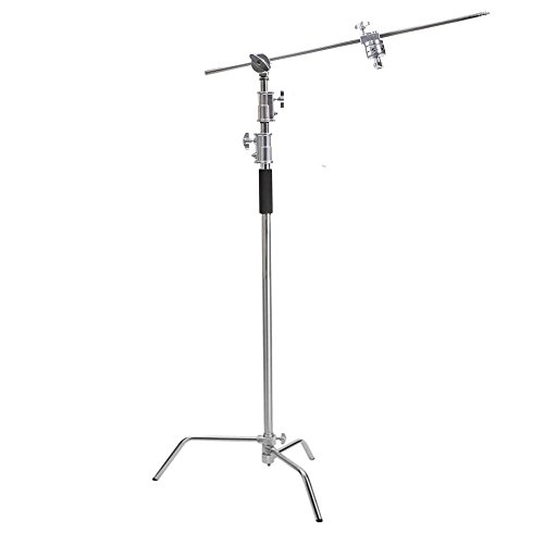 Kshioe Pro 100 Metal Adjustable Reflector Stand With 4ft 120cm Holding Arm And 2 Pieces Grip Head For Photography Studio Video Reflector Monolight Softbox And Other Equipment Buy Online In India At Desertcart In