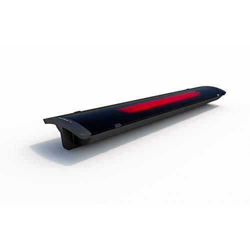 Heatscope Pure Heizstrahler 2400 W Heizelement Carbonstrahler schwarz oder weiß schwarz