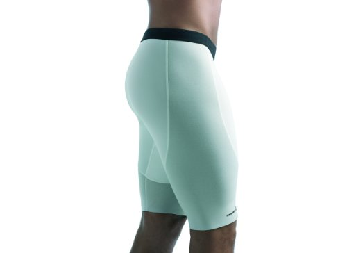 Rehband Damen Funktionswäsche 7785 Athletic Thermohose, weiß, XL