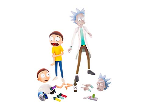 Mondo Tees Rick & Morty Collectible Figure Set