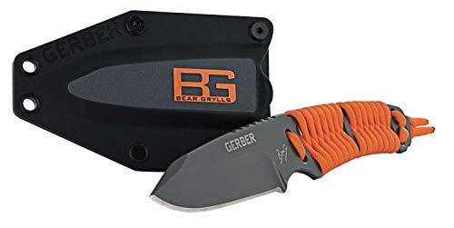 Gerber Bear Grylls Outdoor/Survival-Messer, Paracord Fixed Blade Knife, Klingenlänge: 8,1 cm, Rostfreier Stahl, 31-001683