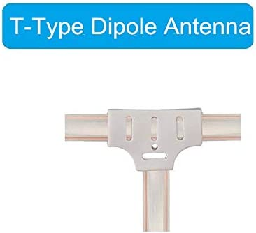 Ancable Antena FM de 300 Ohm en forma de T Dipole Radio Ant ...
