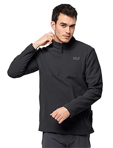 Jack Wolfskin Herren Gecko M Fleecepullover, Black, XL