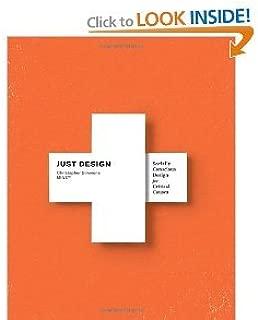 JustDesignSociallyConscious Design for Critical Causes