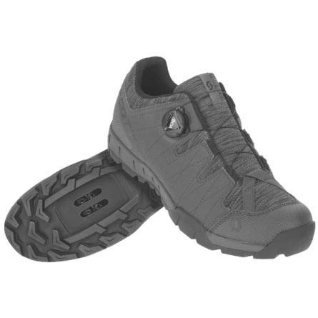 Scott Sport Trail Boa MTB Trekking Fahrrad Schuhe grau/schwarz 2020: Größe: 45