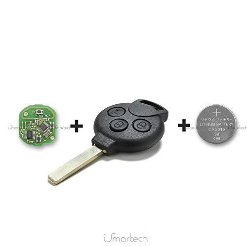 Mercedes-Benz Smart Fortwo 451 Forfour - Llave electrónica para programar