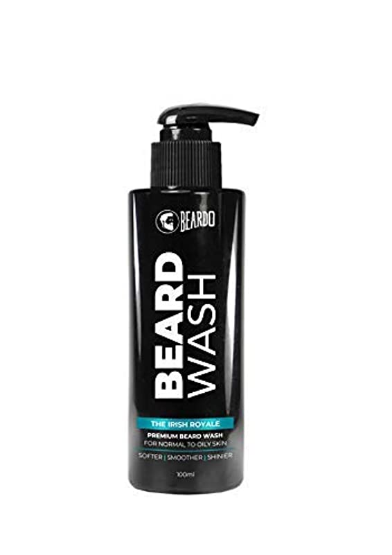 シャツカップル接地Beardo Beard Wash (The Irish Royale) - 100 ml With Natural Ingredients - Nutmeg, Clove and Lime
