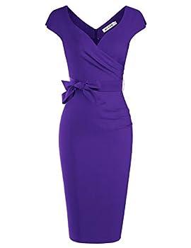 Best purple cocktail dress Reviews