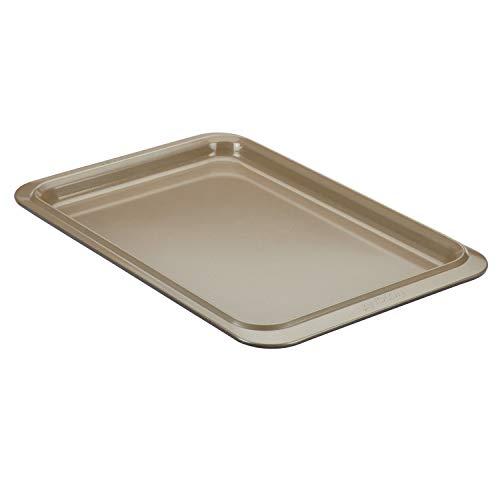 Anolon Eminence Nonstick Bakeware, Nonstick Cookie Sheet / Baking Sheet – 10 Inch x 15 Inch, Onyx/Black/Umber