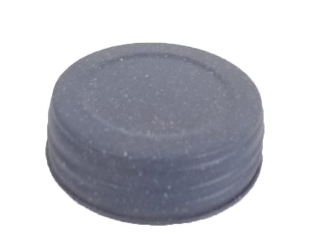 Craft Outlet Glitter Tin no Hole Lid, 2.5-Inch, Blue, Set of 6