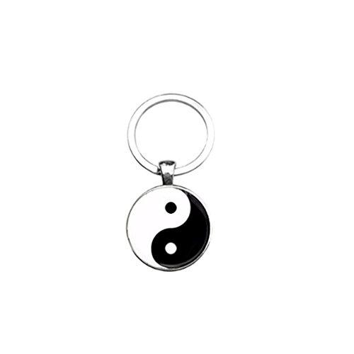 Llavero tai ji yin yang taoísmo chino antiguo ocho diagramas llavero