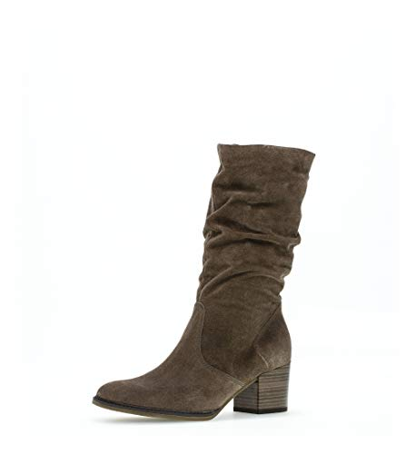 Gabor Damen Elegante Stiefeletten, Frauen Klassische Stiefelette,Comfort-Mehrweite, Stiefel Boot halbstiefel Bootie,Mohair (Micro),36 EU / 3.5 UK