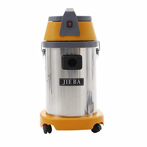 MAZ Máquina de Succión Limpiador Grande Vacío Industrial Vacío Succión Estupenda Máquina de Succión 2000W Coches Familiares con un Limpiador de Barril Aspiradora Manual/amarillo