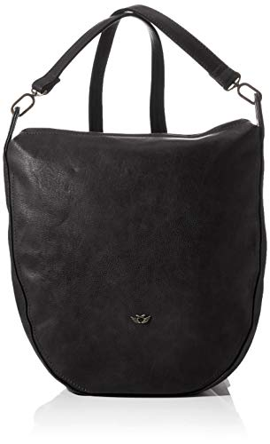 Fritzi aus Preussen Damen Norie Backpack medium Rucksack, Black, One Size