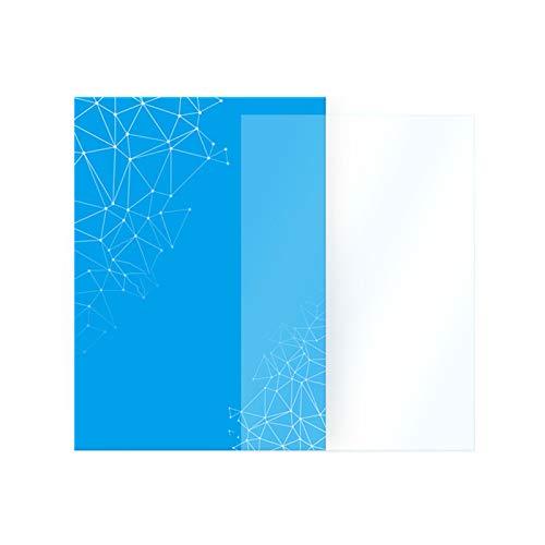 WZCXYX Stampante 3D Fotopolimerizzazione Accessori Fotosensibile 2 Pezzi Pellicola di Rilascio Pellicola Separatore Trasparente in Resina(Size:Mono SE 2pcs)