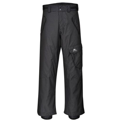 Cox Swain Herren 2-Lagen Ski & Snowboardhose Como, Colour: Dark Grey, Size: XL