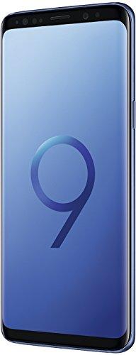 Samsung Galaxy S9 Smartphone, Blue / Coral Blue, 5.8 Display