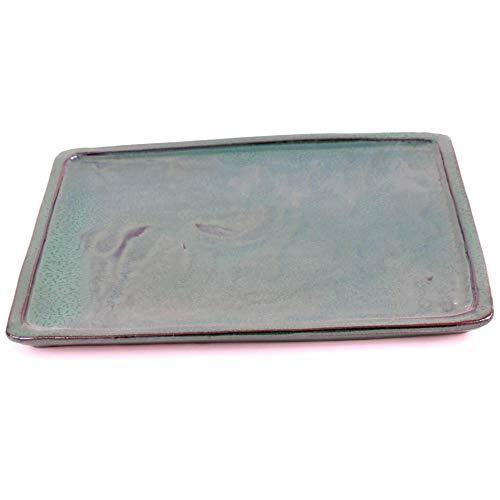 Bonsai 53302 Dessous de Verre carré Vert 31,5 x 24,5 cm
