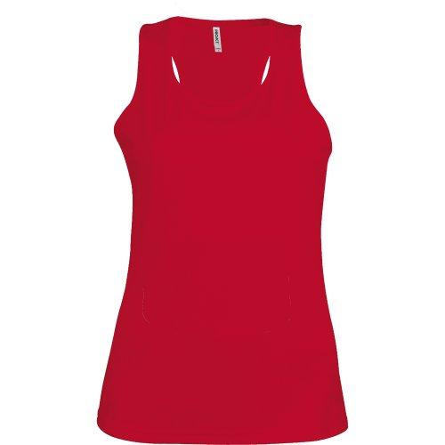 Kariban Proact- Camiseta de deporte de tirantes para chica/mujer