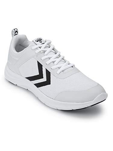 hummel Unisex-Erwachsene Kiel Sneaker, Weiß (White 9001), 44 EU