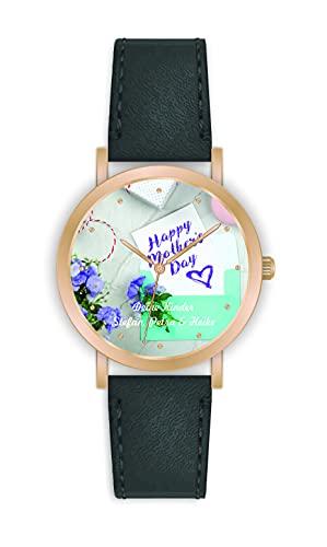 Memories - Reloj con foto personalizado para él y ella (36 mm de diámetro)