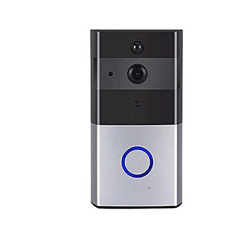 Grote haai Smart deurbel - Smart Wireless Video Deurbel HD Beveiligingscamera met Bewegingsdetectie Nachtzicht Twee-weg Talk en Real-time Video