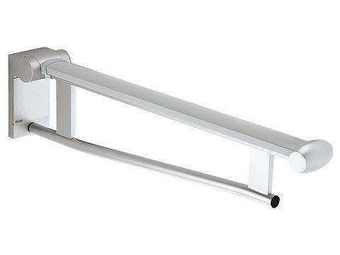 Keuco 34902010651 stützklappgriff Plan Care für Waschtisch, Ausladung 650 mm, verchromt / weiß