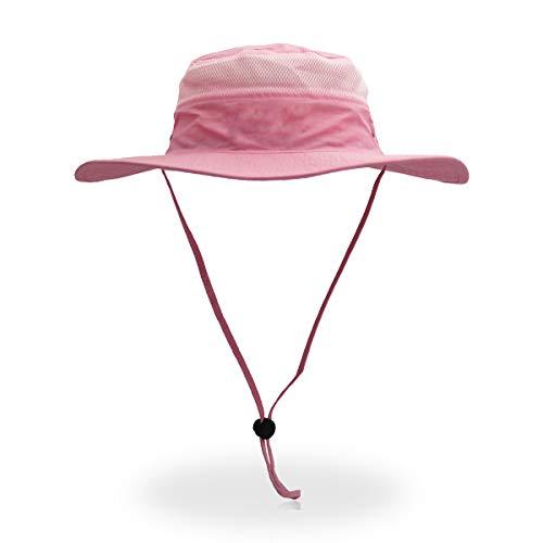 Outfly Breite Krempe Sonnenhut für Herren Mesh Bucket Hat Leichter Bonnie Hut Outdoor Angelhut